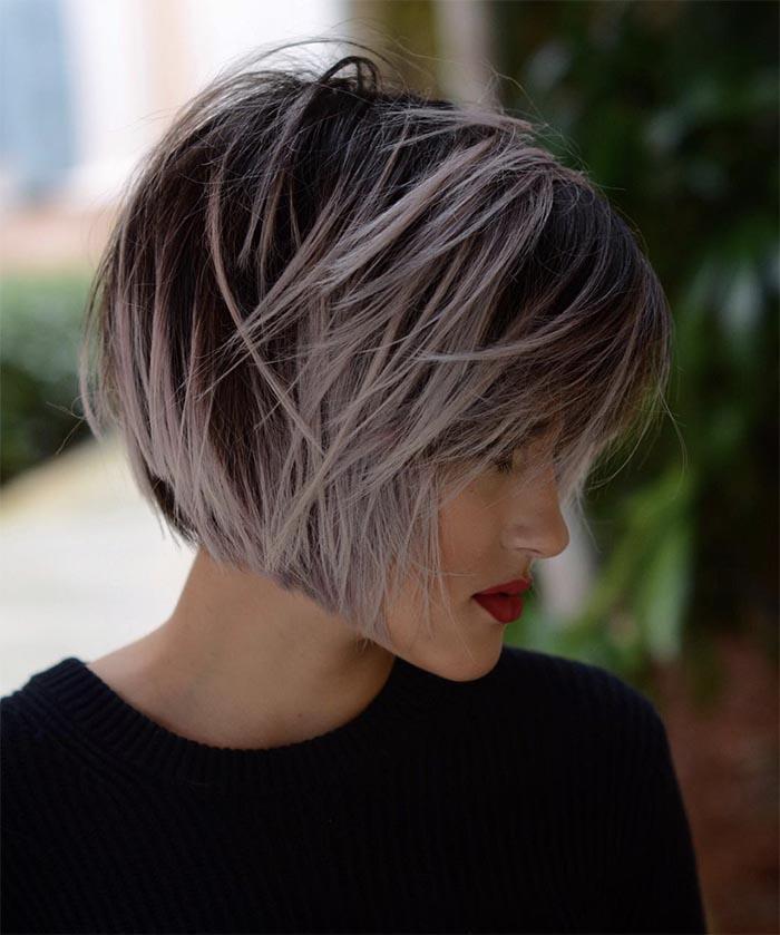 cabelo repicado luzes grossas