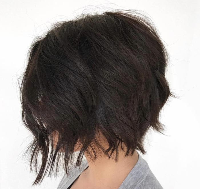 cabelo repicado ondulado