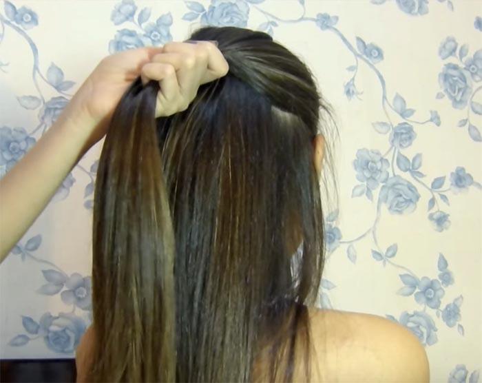 laco no cabelo 1