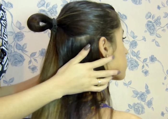 laco no cabelo 2