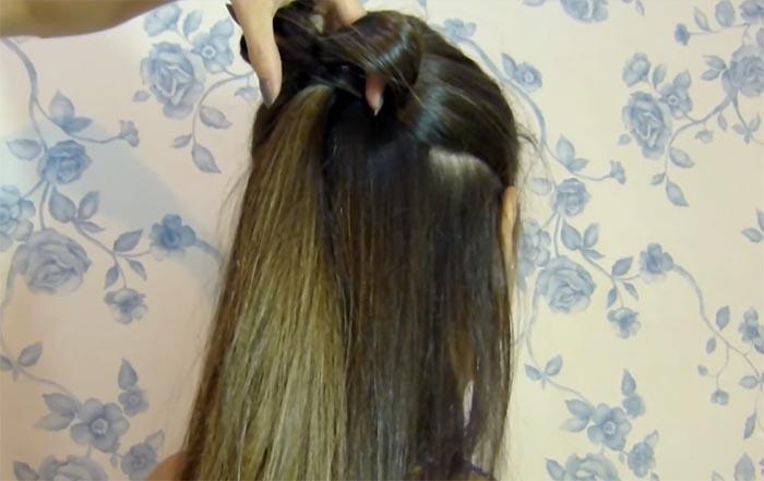 laco no cabelo 3