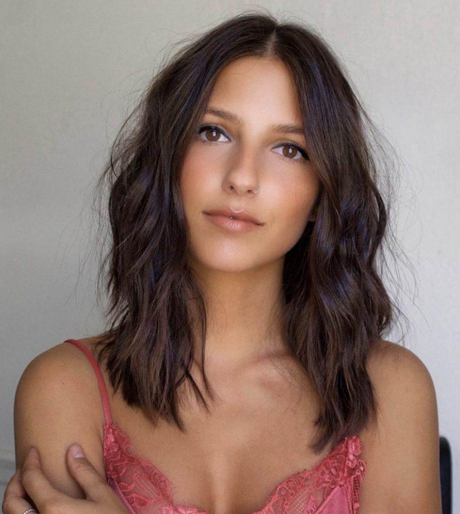 medio cabelo ondulado