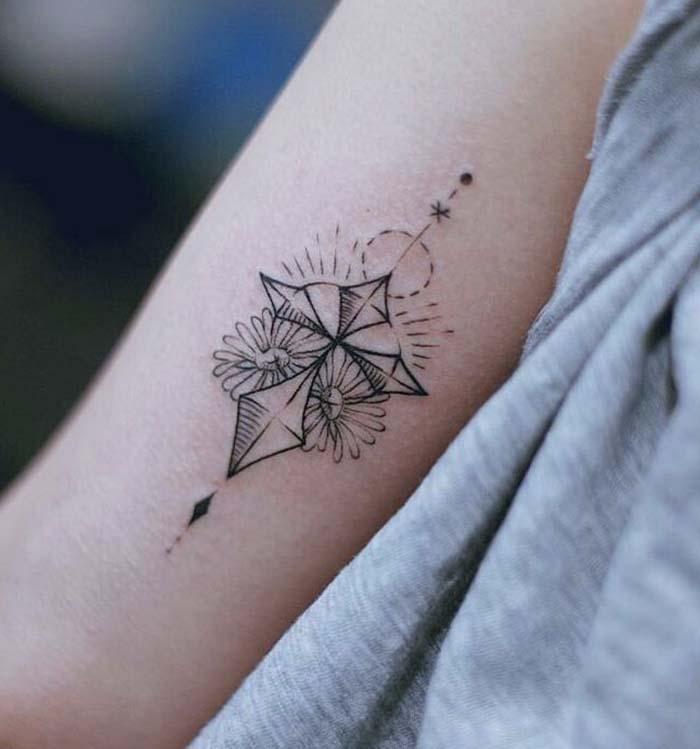 tatuagem antebraco feminina