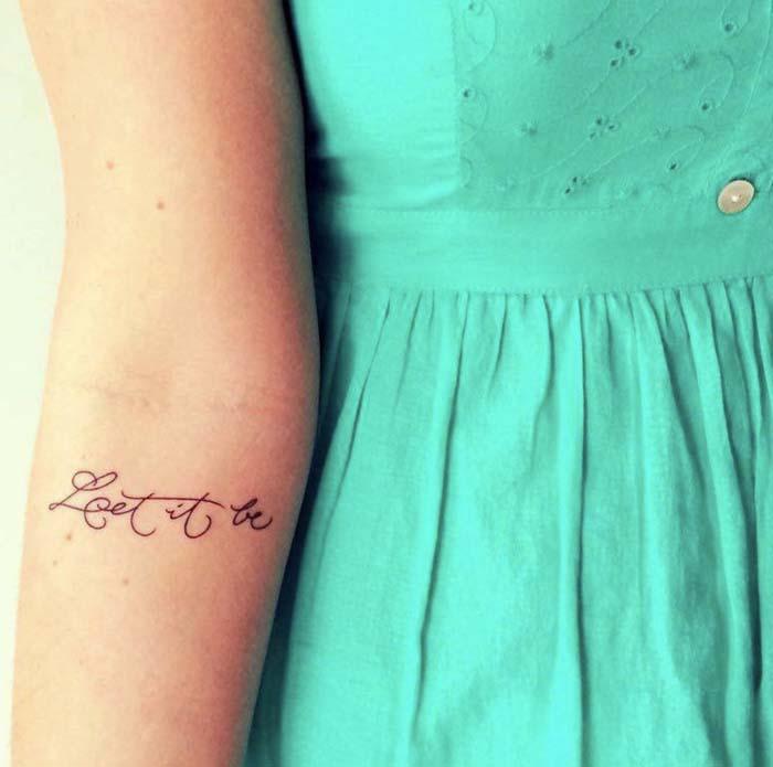 tatuagem feminina braco