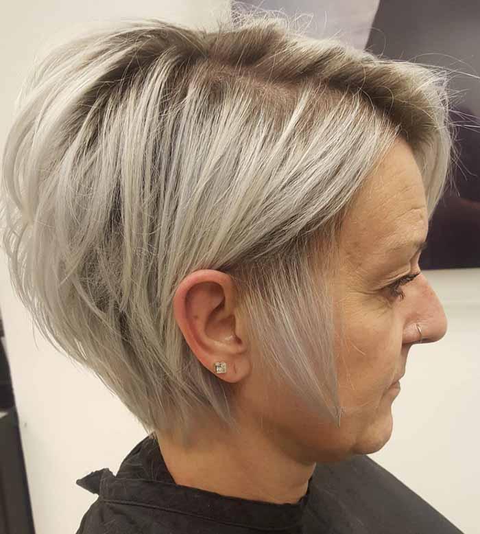 cabelo curto moderno para senhoras