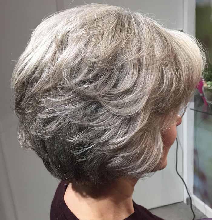 corte de cabelo repicado curto para senhoras