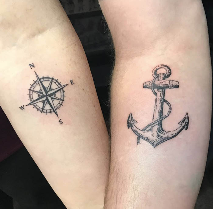 tattoo para casais